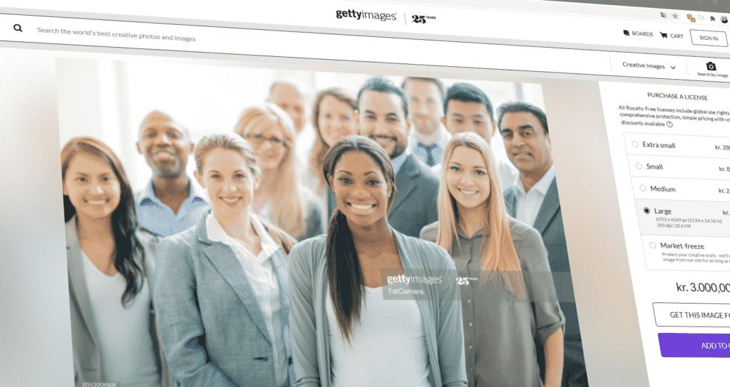 Markedsføring stock photo