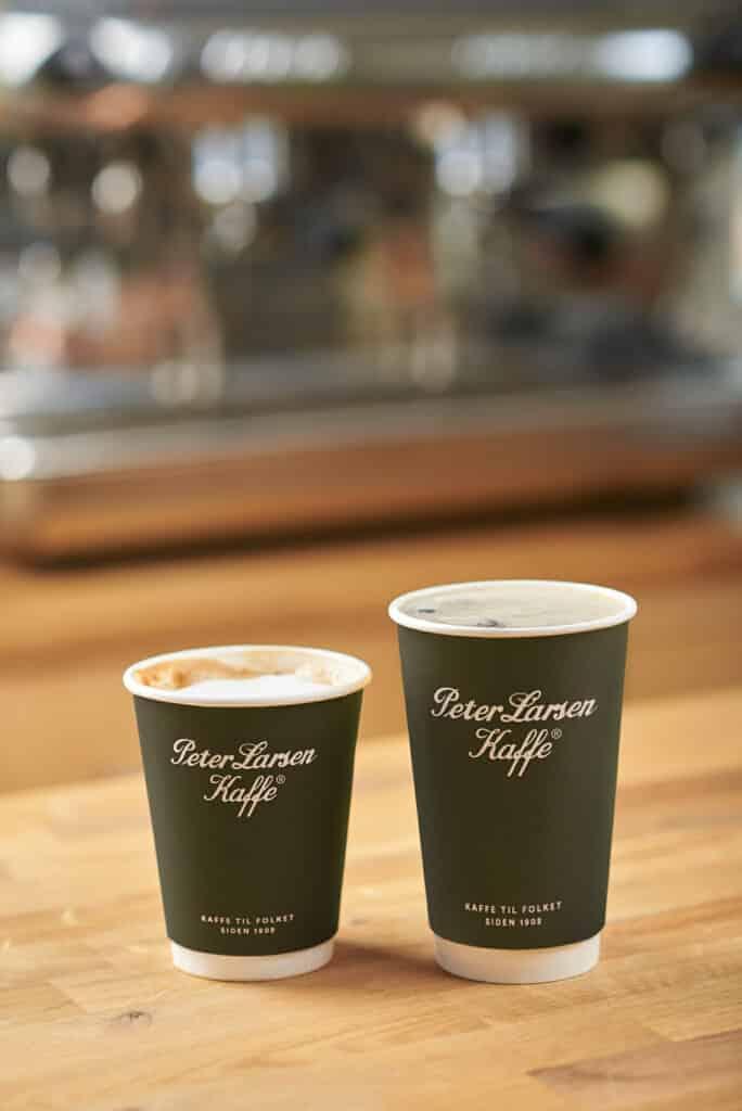 Firmaprofilering - kaffekopper